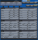 TC-Helicon VoicePro Editor