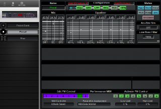 Click to display the ART Multiverb Alpha Preset Editor