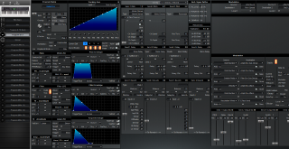 Click to display the Alesis QS 6.1 Program & FX -  Editor