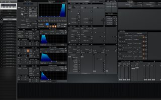Click to display the Alesis QS 7.1 Program & FX -  Editor