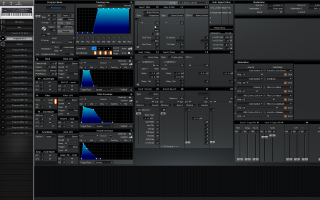 Click to display the Alesis QS 8.1 Program & FX -  Editor