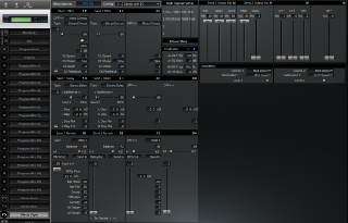 Click to display the Alesis QuadraSynth S4 Module Effects (Pgm) Editor