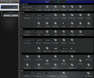 Click to display the Alesis Quadraverb Patch Editor