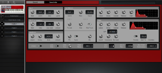 Click to display the Clavia Nord Lead Patch A Editor