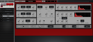 Click to display the Clavia Nord Lead Patch B Editor