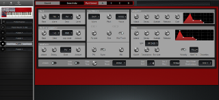 Click to display the Clavia Nord Lead Patch C Editor