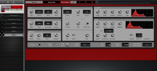 Click to display the Clavia Nord Lead Patch D Editor