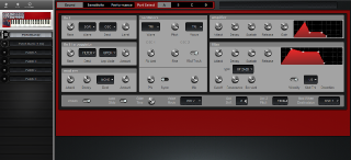 Click to display the Clavia Nord Lead Performance Editor