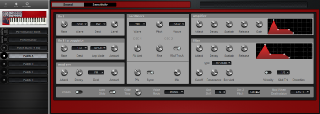 Click to display the Clavia Nord Lead 1 (v2 ROMS) Patch A Editor