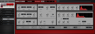 Click to display the Clavia Nord Lead 1 (v2 ROMS) Patch B Editor