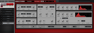Click to display the Clavia Nord Lead 1 (v2 ROMS) Patch D Editor