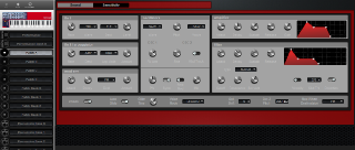 Click to display the Clavia Nord Lead 2X Patch A Editor