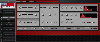 Click to display the Clavia Nord Lead 2X Patch B Editor