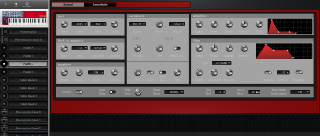 Click to display the Clavia Nord Lead 2X Patch C Editor
