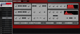 Click to display the Clavia Nord Lead 2X Patch D Editor