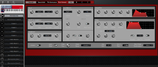 Click to display the Clavia Nord Lead 2X Performance Editor