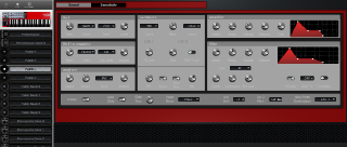Click to display the Clavia Nord Lead 2X Anniversary Patch C Editor