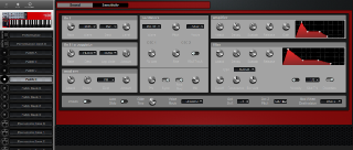 Click to display the Clavia Nord Lead 2X Anniversary Patch D Editor