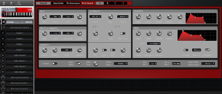 Click to display the Clavia Nord Lead 2X Anniversary Performance Editor