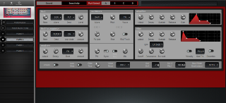 Click to display the Clavia Nord Rack 2 Patch B Editor