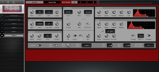 Click to display the Clavia Nord Rack 2 Patch D Editor