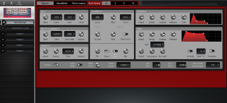 Click to display the Clavia Nord Rack 2 Performance Editor