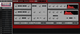 Click to display the Clavia Nord Rack 2X Performance Editor