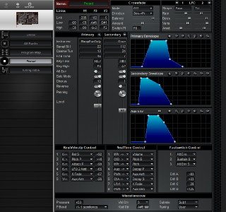 Click to display the Creative Labs Wave Blaster Preset Editor