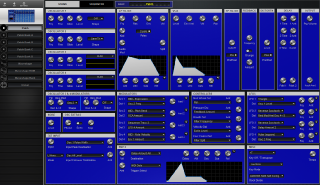 Click to display the Dave Smith Evolver Patch - Patch Editor