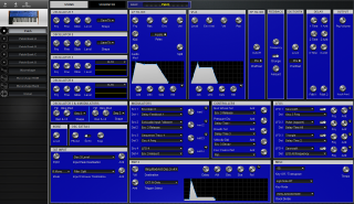 Click to display the Dave Smith Mono Evolver Patch - Patch Editor