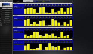 Click to display the Dave Smith Mono Evolver Patch - Sequence Editor