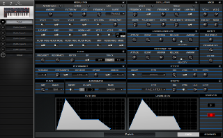 Click to display the Dave Smith OB-6 Patch - Synth Editor