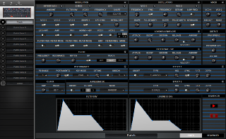 Click to display the Dave Smith OB-6 Desktop Patch - Synth Editor