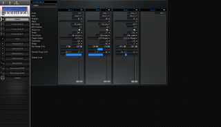 Click to display the Dave Smith Poly Evolver Combo Editor