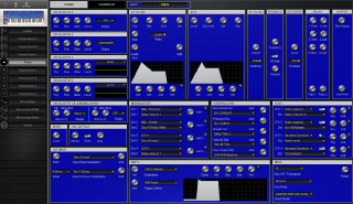 Click to display the Dave Smith Poly Evolver Patch - Patch Editor