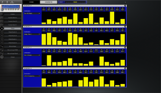 Click to display the Dave Smith Poly Evolver Patch - Sequence Editor