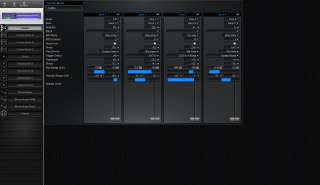 Click to display the Dave Smith Poly Evolver Rack Combo Editor