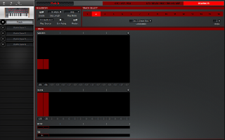 Click to display the Dave Smith Pro 2 Patch - Sequencer Editor
