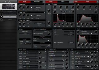 Click to display the Dave Smith Prophet 08 Rack Patch - Patch Editor