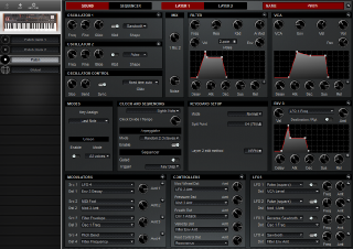Click to display the Dave Smith Prophet 08 SE Patch - Patch Editor