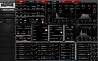 Click to display the Dave Smith Prophet Rev2 Patch - Patch Editor