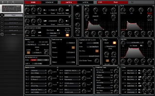 Click to display the Dave Smith Prophet Rev2 Dsk Patch - Patch Editor
