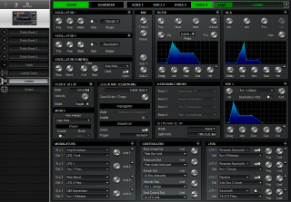 Click to display the Dave Smith Tetra Combo - Patch Editor