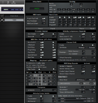 Click to display the Digital Music MX-8 Patch Editor