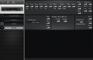 Click to display the Dynacord DLS 223 Remote Editor