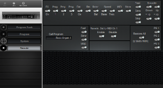 Click to display the Dynacord DLS 300 Remote Editor