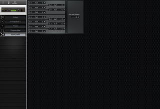 Click to display the E-MU Proteus/1 Tuning Table Editor