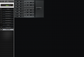 Click to display the E-MU Proteus/1 XR Tuning Table Editor