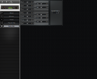 Click to display the E-MU Proteus/2 Tuning Table Editor