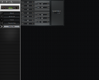 Click to display the E-MU Proteus/2 XR Tuning Table Editor